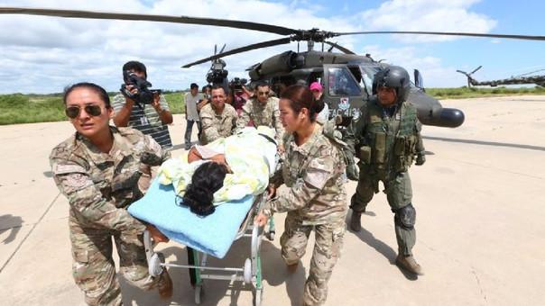 La aprobación de las Fuerzas Armadas creció más de 20 puntos.
