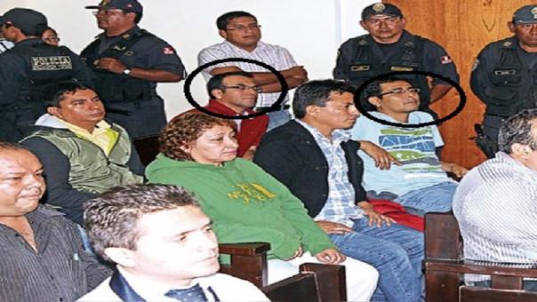 Carlos Santa Cruz y Martín Villanueva podrían ser llevados a otro penal