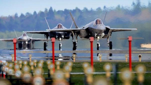Envía los nuevos caza F-35 a Europa
