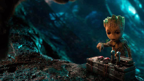 Baby Groot, en Guardianes de la Galaxia Vol. 2
