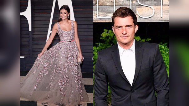 Nina Dobrev y Orlando Bloom