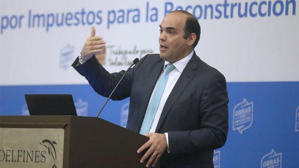 El premier Zavala anunció el próximo lanzamiento del mecanismo Obras por Terrenos.