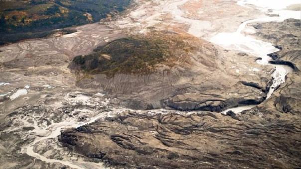 El Kaskawulsh es uno de los mayores glaciares del río Yukón en Canadá.