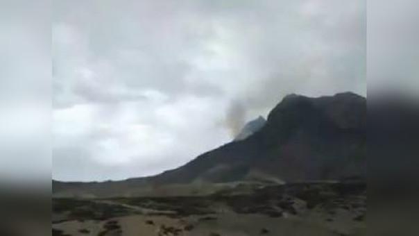 Incendio Cerro Campana