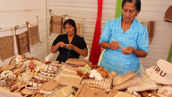 artesanos algodón nativo