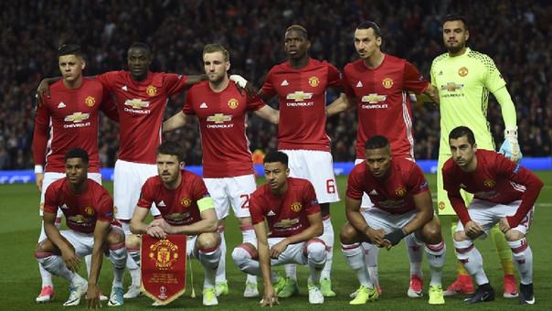 Este es el once inicial de Manchester United ante Anderlecht en la Europa League.