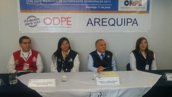 Instalaron ODPE en Arequipa