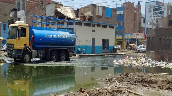 Sanciones por arrojar basura en José Leonardo Ortiz
