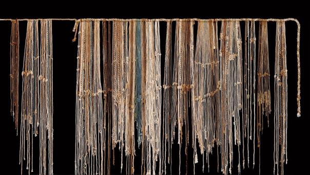 Los colores en los quipus no solo llevan la contabilidad de objetos.