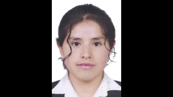Consejera accesitaria por la provincia de Huaraz, María Salcedo