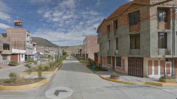 Centro poblado Salcedo.