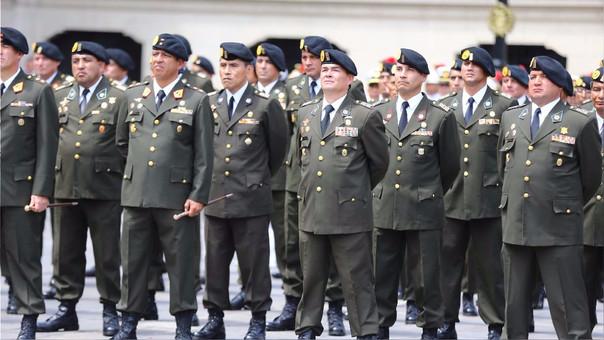El Congreso reconoció a los comandos Chavín de Huántar.