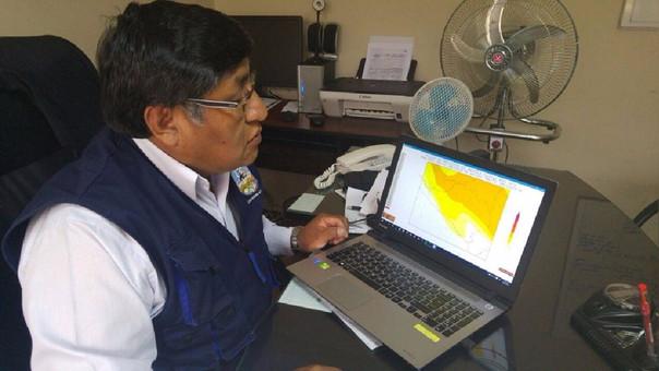 Intenso frío se registra en Arequipa