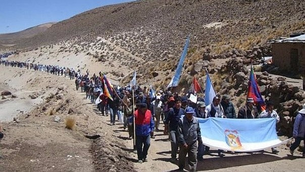 Conflicto territorial entre Puno y Moquegua empieza a encenderse.