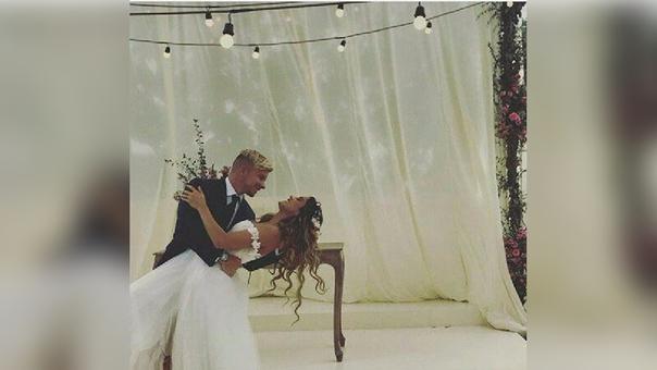 Mario Hart y Korina Rivadeneira: filtran fotos y videos de su boda