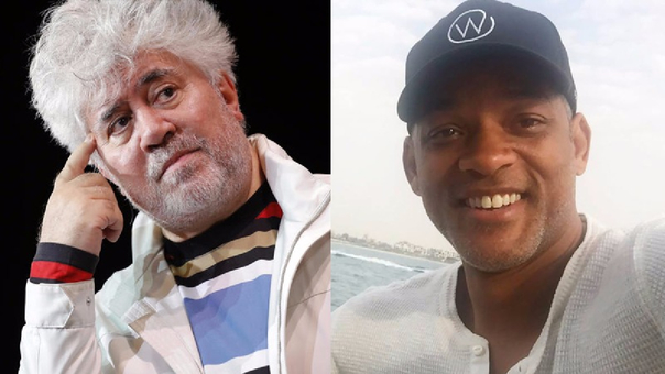 Pedro Almodóvar y Will Smith