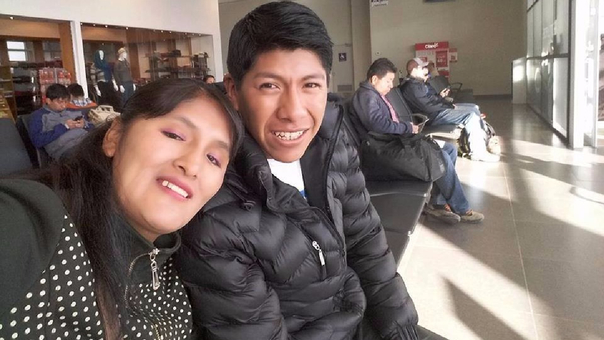 Alfredo Marcos Cáceres Chávez y su esposa vivían juntos en Yunguyo.