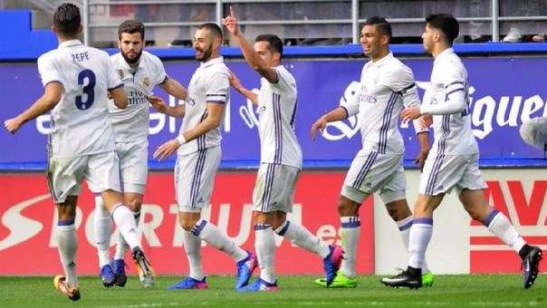 Sin espacios a ilusiones: El Madrid ganó en la agonía a Valencia
