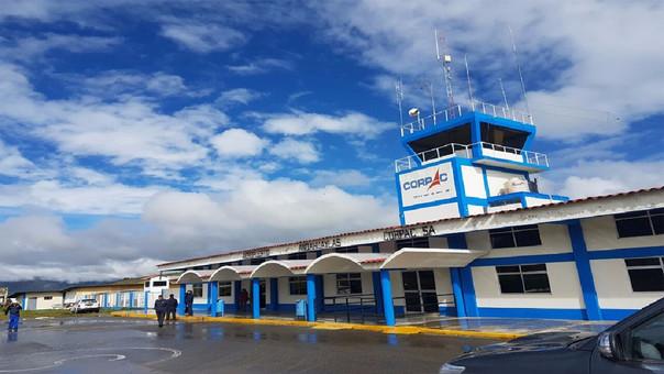 Vuelos suspendidos en Aeropuerto de Andahuaylas