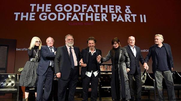 El elenco de El Padrino y El Padrino II se reunieron después de muchos años.