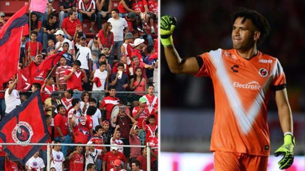 Pedro Gallese llegó a los Tiburones Rojos de Veracruz a mediados del 2016.