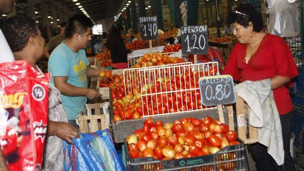 Inflación en Lima Metropolitana cayó al 0.26% en abril
