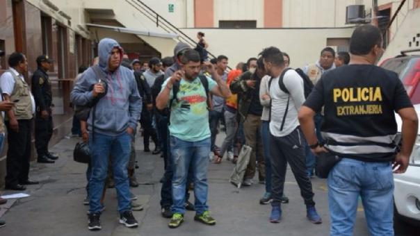 Colombianos fueron expulsados del Perú en los últimos días