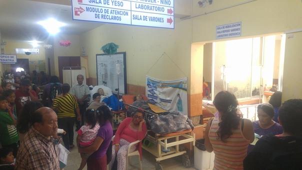 Pacientes en La Caleta
