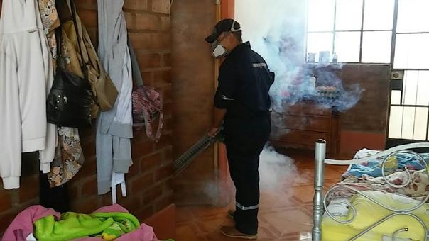 Fumigación en Ica