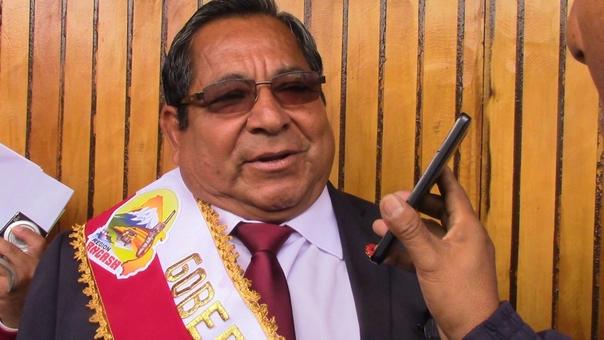 Gobernador regional encargado, Luis Gamarra Alor