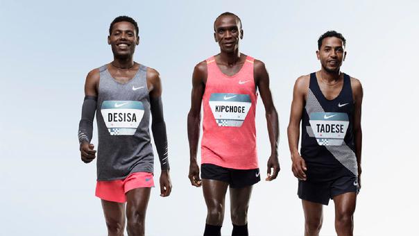 Keniano Kipchoge corre el maratón más rápido de la historia