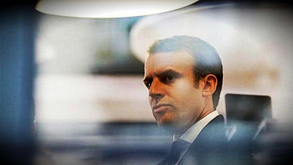 Primeros sondeos dan amplia ventaja a Macron en Francia