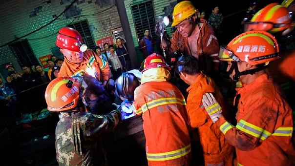 Dieciocho muertos por fuga de gas en mina de centro de China