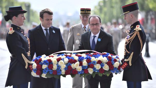 """Traspaso de poderes entre Hollande y Macron se hará el domingo"""""""