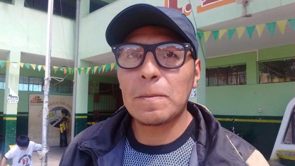 Marco Coaquira Zevallos denunció negligencia de profesora contra su hijo.