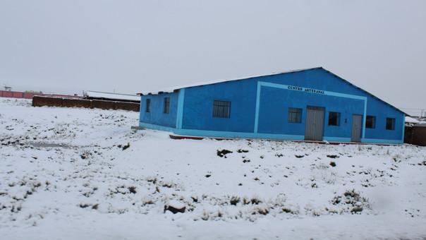 Capas de nieve podrían acumularse entre 5 a 10 centímetros de espesor.