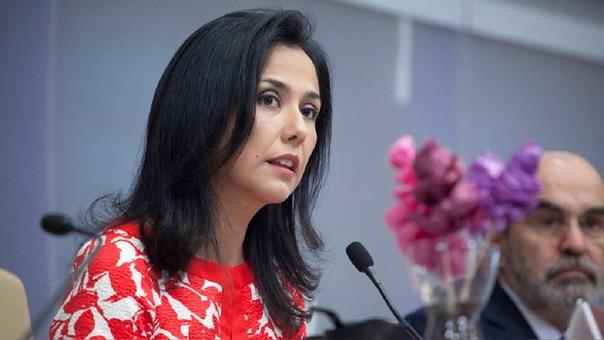 Nadine Heredia renunció a su cargo de directora de la FAO