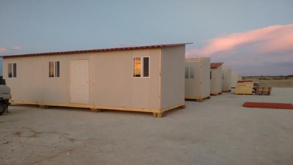 Instalan m dulos de vivienda para damnificados en piura - Modulos prefabricados para viviendas ...
