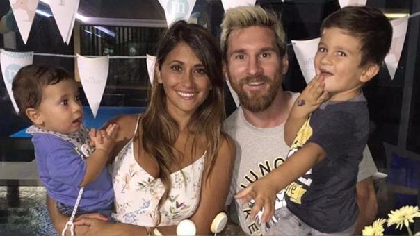 Messi y Antonella tienen dos hijos como fruto de su relación.