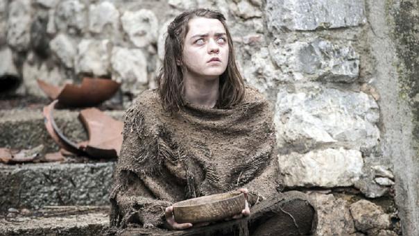 La joven Maisie es conocida por su papel de 'Arya Stark'