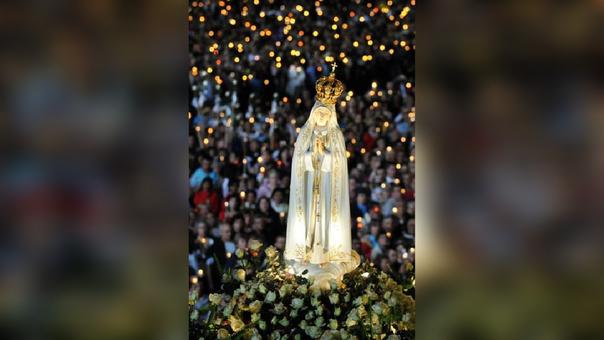 Procesión de la Virgen de Fátima