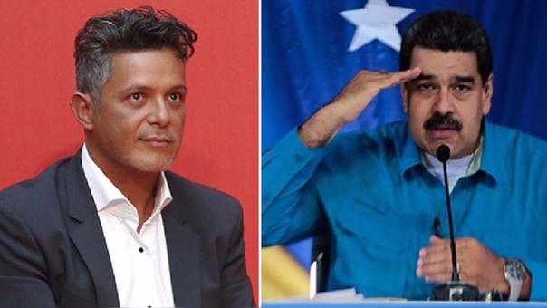 Alejandro Sanz aseguró que Nicolás Maduro teme a las críticas de los artistas.