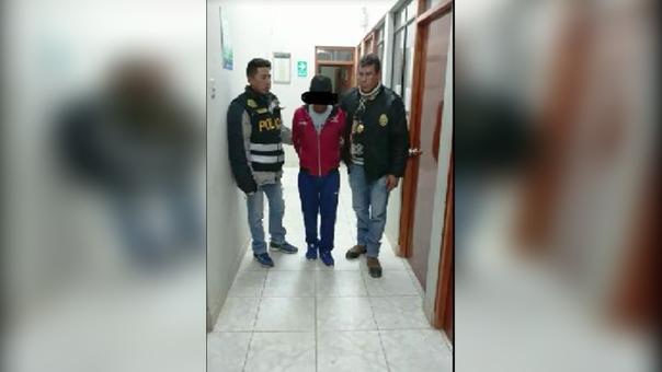 Extorsión en Sicuani