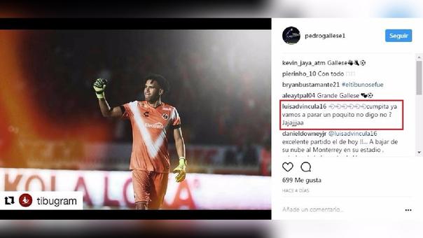 Este fue el comentario que hizo Luis Advíncula.