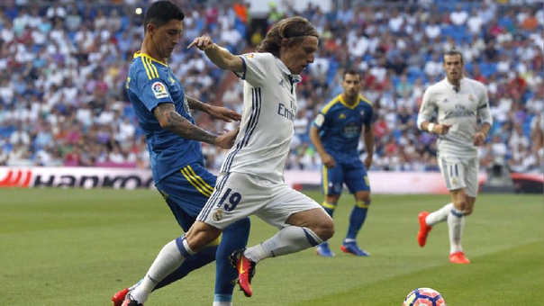 Real Madrid se impone y golea al Celta