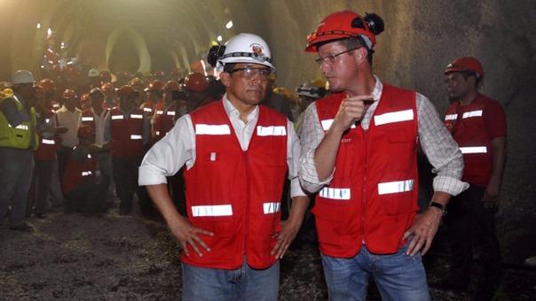 Ollanta Humala con Jorge Barata, ex director ejecutivo de Odebrecht en el Perú.
