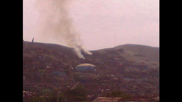 Incendio en Vista Alegre