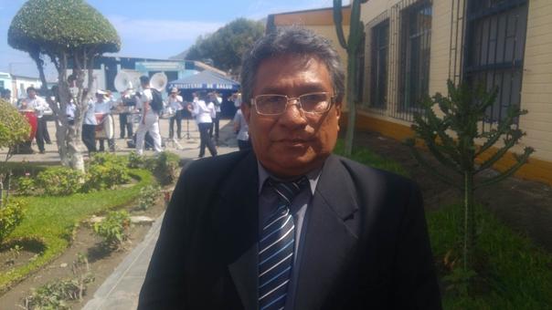 Director del hospital La Caleta, Fernando Iturrizaga
