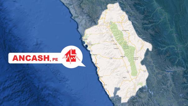 El seísmo se registró a 68 Km al suroeste de Samanco en Ancash.