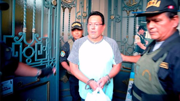 Félix Moreno está recluido por el caso Odebrecht.